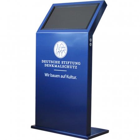 Kiosksystem Info Terminal DWD 22 Zoll Touch Mietgerät