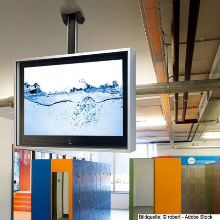 LCD LED Monitor Schutzgehäuse mit Staub- und Wasserschutz SLIM