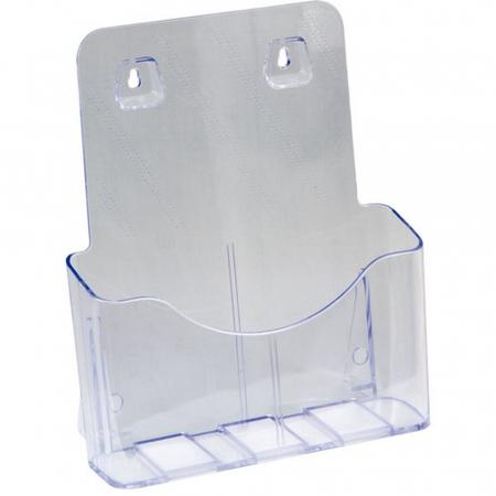 DIN A4 Prospektbox für Standfüße und Rollwagen