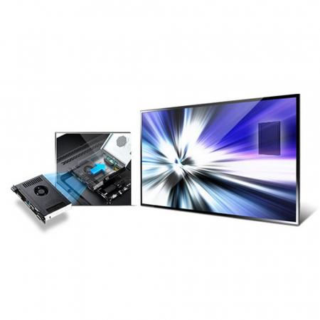Samsung Mini PC Plug In Module Quad Core, 64GB SSD