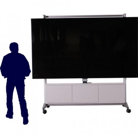 Elektrisch höhenverstellbarer TV Rollwagen MR95-Big ab 65 Zoll