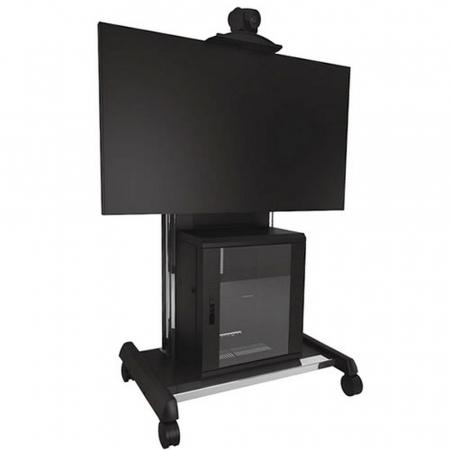 Videokonferenz TV Rollwagen XVAUB für 37-70 Zoll Monitore
