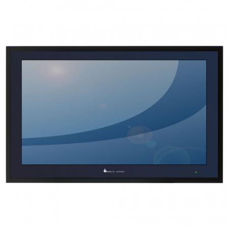 Outdoor TV mit hoher Helligkeit IP66