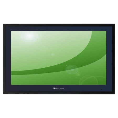 Outdoor Touch TV hohe Helligkeit IP66 integr. PC