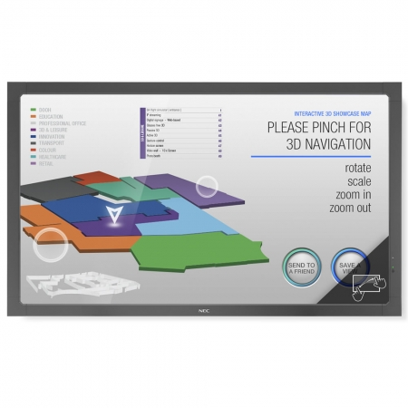 NEC Large V423-TM Multi Touch Display 42 Zoll 107 cm