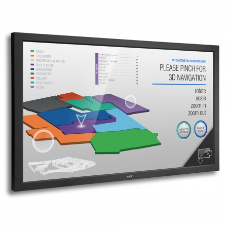 NEC Large V652-TM Multi Touch Display 65 Zoll 165 cm