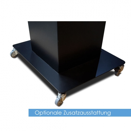 Kiosksystem Pult Version mit Touch Display 43 - 65 Zoll