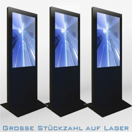 Digital Poster Werbestele MMLS48DM 48 Zoll Leihgerät Schwarz