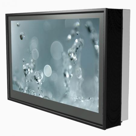 Outdoor Schutzgehäuse DOOHBOX-XL mit 65 Zoll Display