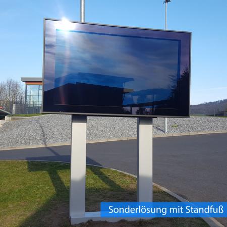 Outdoor Monitor Schutzgehäuse DOOHBOX XXL 75 Zoll