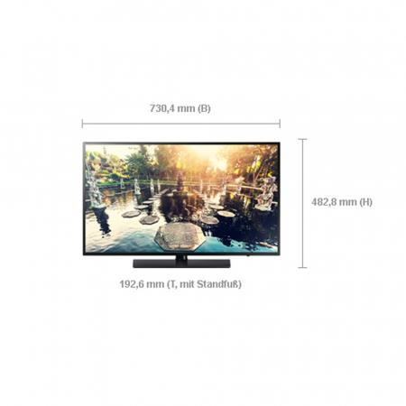 Hotel TV LED Monitor Samsung HG32EE690DB 32 Zoll 81 cm