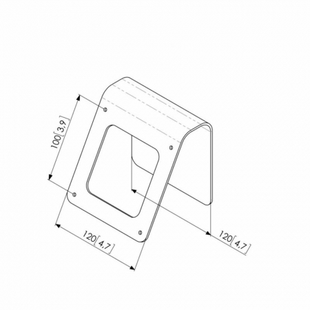 Tisch- und Wandhalterung für Tablets