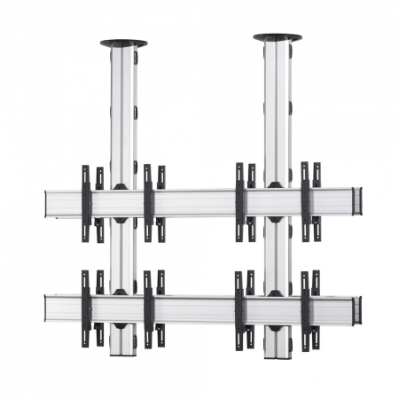 2x2 Rücken-an-Rücken TV-Deckenhalter 42-55 Zoll