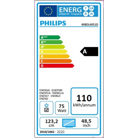 Philips 49BDL4051D/00 Public Info Display 49 Zoll (123,20 cm)