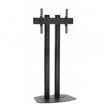 Monitor Standfuß Schwarz für Displays ab 65 Zoll, max. 80 kg