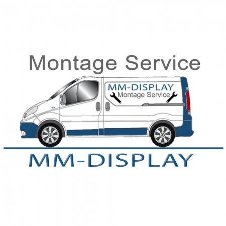 MM-PFW6400 Display-Wandhalterung mit Diebstahlschutz für 46-65 Zoll