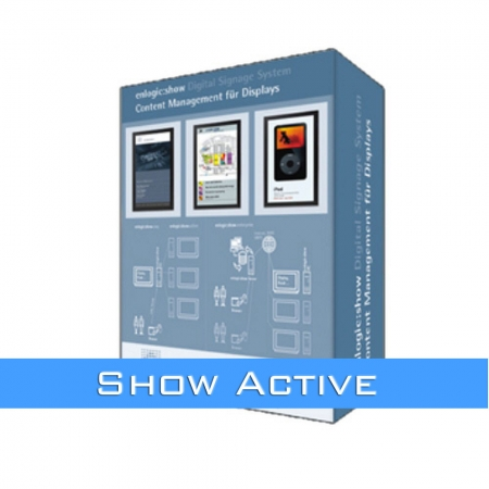 Digital Signage Management-System enlogic show active