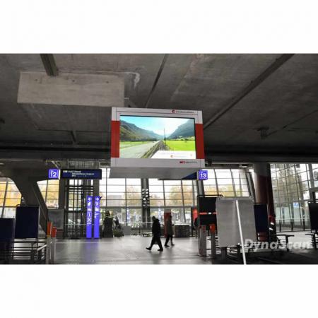 84 Zoll Ultra HD Ultra High Brightness Schaufenster Monitor DS84