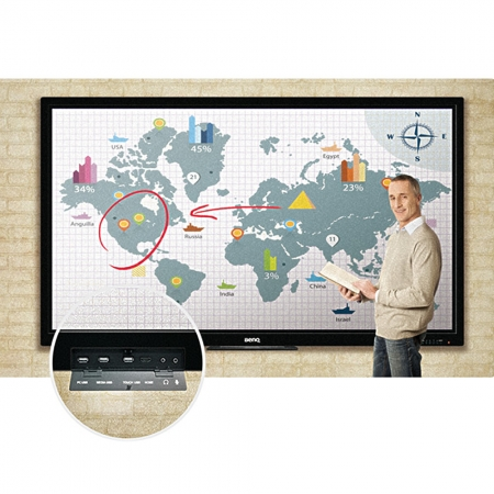 BenQ RP652H Multi Touch Display 65 Zoll 165 cm