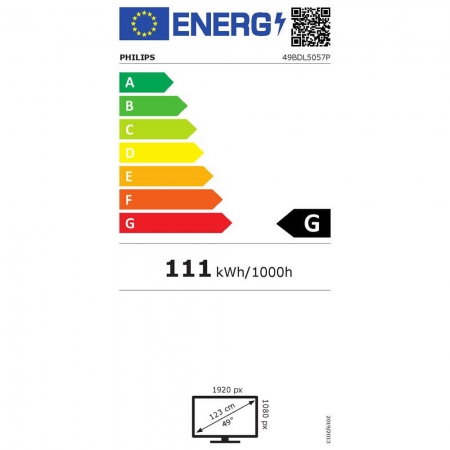 Philips 49BDL5057P/00 Public Info Display 49 Zoll (123,20 cm)