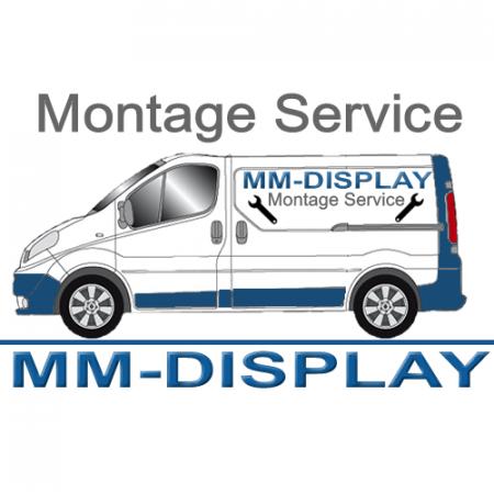Samsung Outdoor Monitor 55 Zoll mit Rollwagen Mietgerät