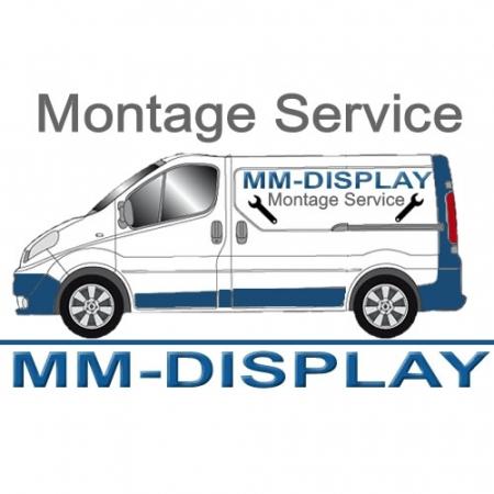 Indoor LED Werbestele MMBS-Stele mit Brandschutz