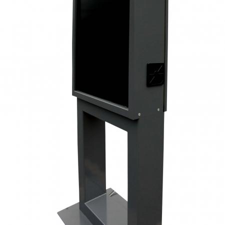 Indoor Werbestele MMBS-S mit Brandschutz und Lüftungssystem
