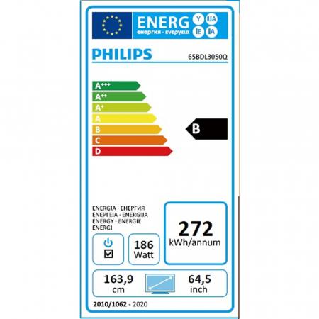 Philips 65BDL3050Q/00 4K UHD Display 65 Zoll (163,9 cm)
