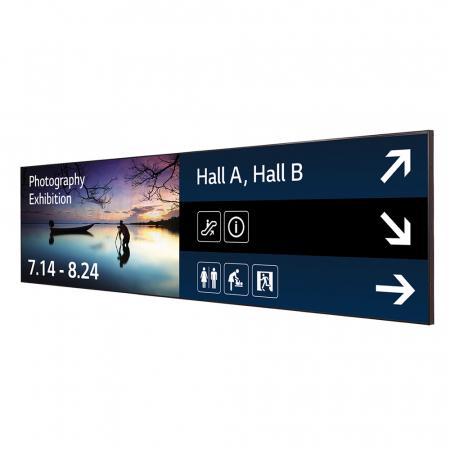 LG 88BH7D Ultra HD Stretch Signage Display 88 Zoll