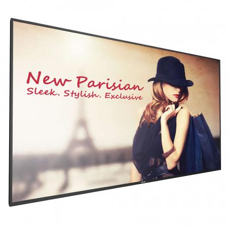 DIN A4 Prospekthalter für TV Ständer