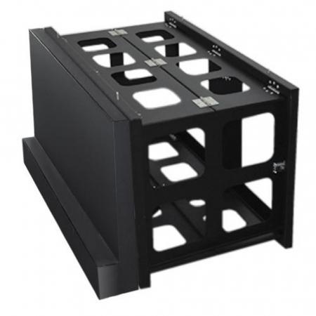 Videowall Erweiterungsmodul Sockel mit Frontverkleidung 55 Zoll