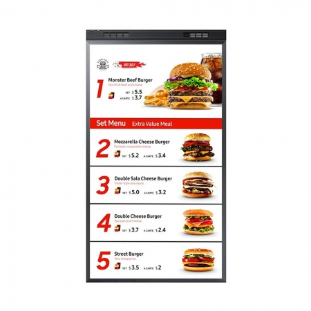 Samsung OM46N-D Doppelseitiger Schaufenster Monitor 46 Zoll
