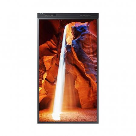 Samsung OM55N-D Doppelseitiger Schaufenster Monitor 55 Zoll