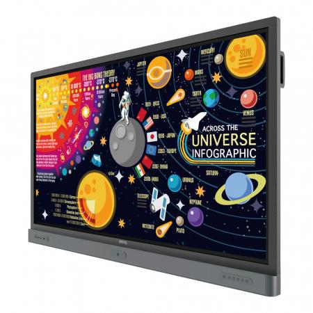 BenQ RP7501K UHD Interactive Touchdisplay 75 Zoll