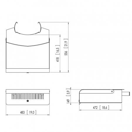 MM-PFA9052 Abschließbarer Schrank