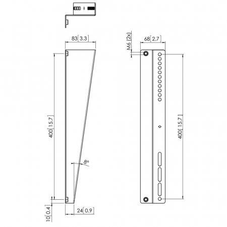 MM-PFA9122 Z-Neige Erweiterung für MM-PFS3504