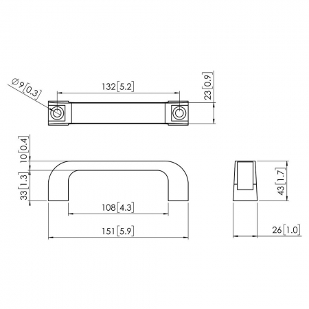 MM-PFA9124 Handgriff für MM-PUC27xx/29xx