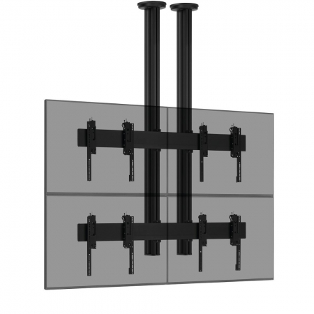 2x2 Videowall Deckenhalterung MM-CVW2255