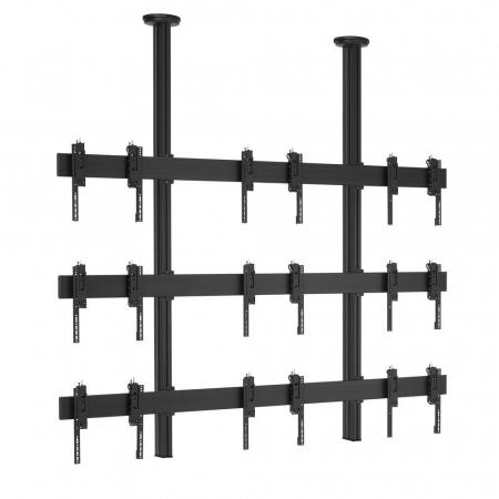 3x3 Videowall Deckenhalterung MM-CVW3355