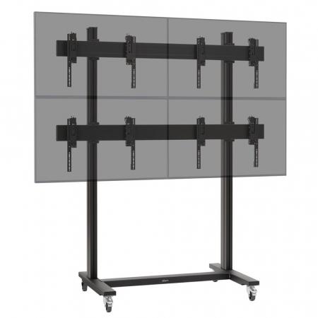 2x2 Videowall Trolley MM-TVW2255