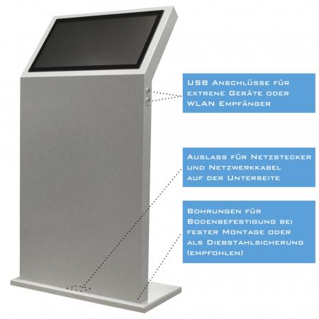 Kiosksystem Info Terminal DWD 22 Zoll Touch