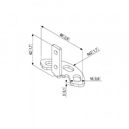 MM-PFA9101 Bodenkonsole
