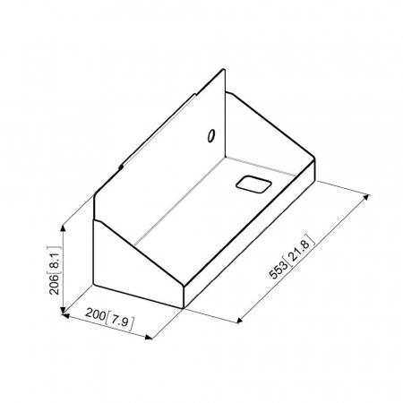 MM-PFA9118 PC-Halter für MM-PFTE7112