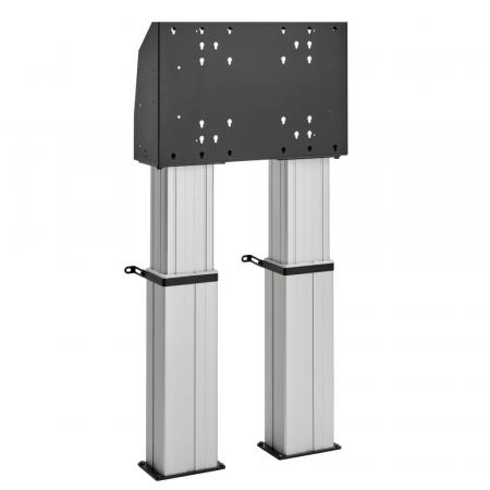 Motorbetriebener Bodenständer, Boden befestigt MM-FMDE6064 60 cm