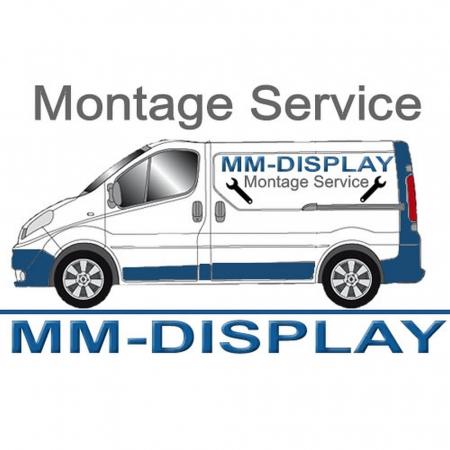 Digital Poster Werbestele MMLS49QM 49 Zoll UHD und WLAN