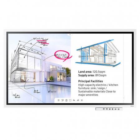 UHD Touch Display Flipchart Samsung Flip WM55R 55 Zoll