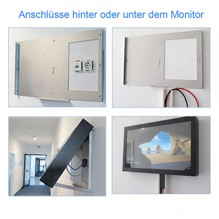 Brandschutz Monitor 24 - 65 Zoll A1 Zertifiziert