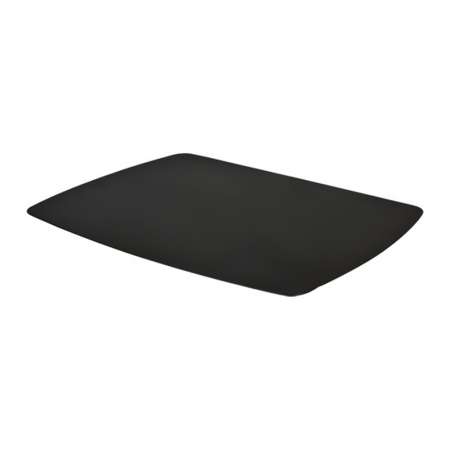 Ablageboard für Monitor Standfüße inkl. Rohrschelle