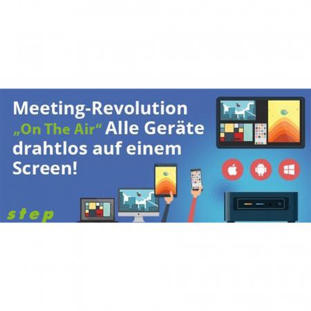 Mini-PC drahtloses Konferenzsystem Übertragung mit 8 Geräten