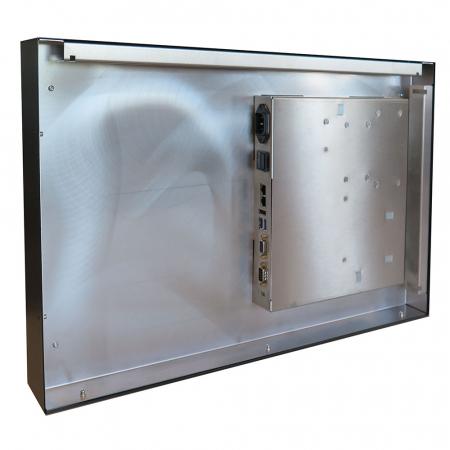 Brandschutz Monitor 24 - 65 Zoll A1 Zertifiziert inkl. Mini PC